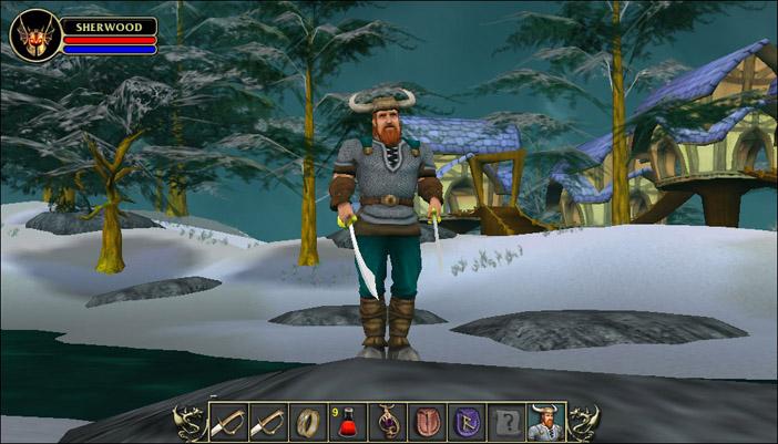 Anyone remember sherwood dungeon (browser based mmo): gaming.